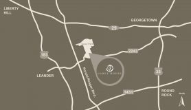 Map to Garey House