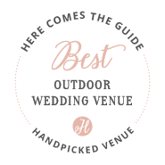 Here Comes The Guide - Best Outdoor Wedding Venue Award